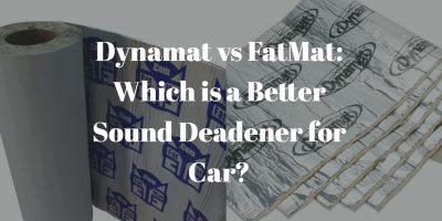 Dynamat vs FatMat
