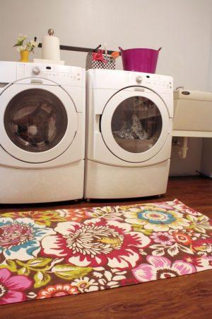 Rug on laundry