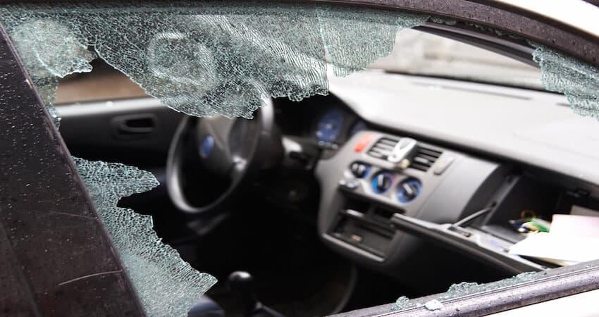 How To Break A Car Window Quietly