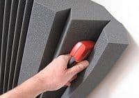 Install Acoustic Foam