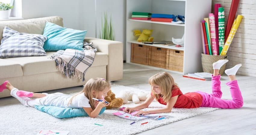 Thick Floor Carpets for soundproofing