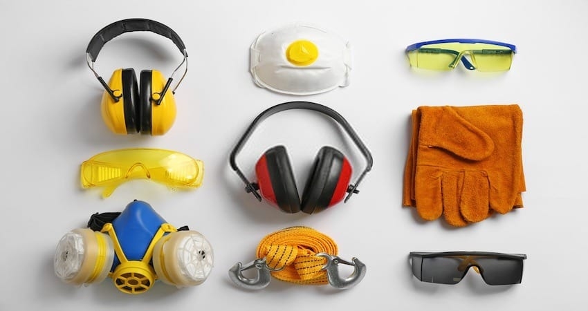safety equipment for Lawnmower