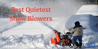 Best Quietest Snow Blowers in 2019
