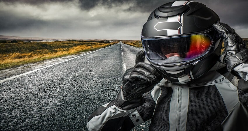 How to Make a Motorcycle Helmet Quieter