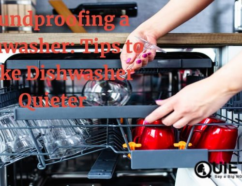 Soundproofing a Dishwasher: Tips to Make Dishwasher Quieter
