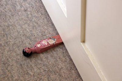 Place Rugs under the Door