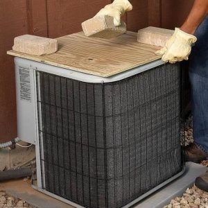 Covering the AC Unit